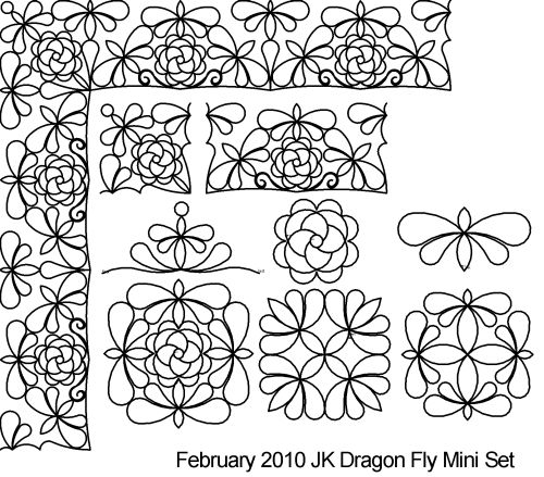 Dragon fly Mini Set