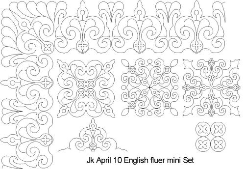 English Fluer mini set