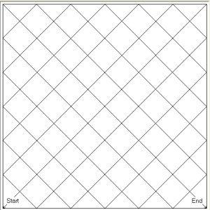 """Square 1"""" Grid Blocks"""