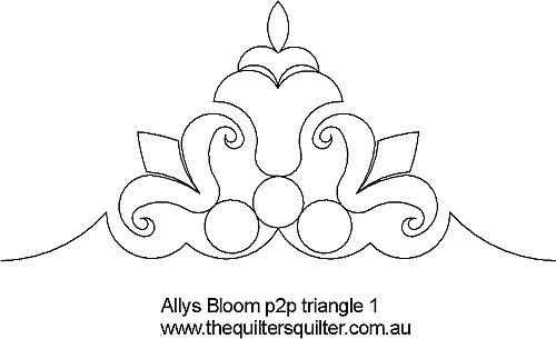Allys bloom  triangle 1
