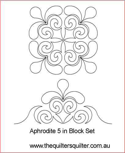 Aphrodites 5in block set