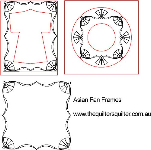 Asian Fan Frames