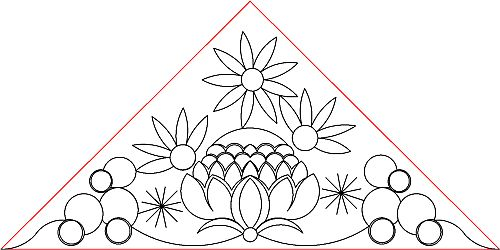 Aussie Floral Triangle