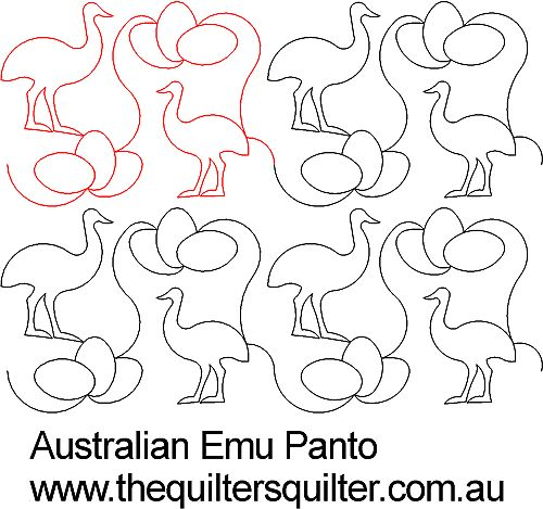 Australian Emu Panto