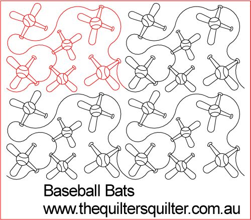 Baseball bats panto