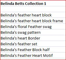 Belinda Betts Collection 1