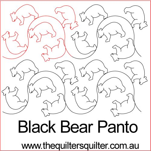 Black Bear Panto