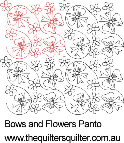 Bows and Flowers Panto