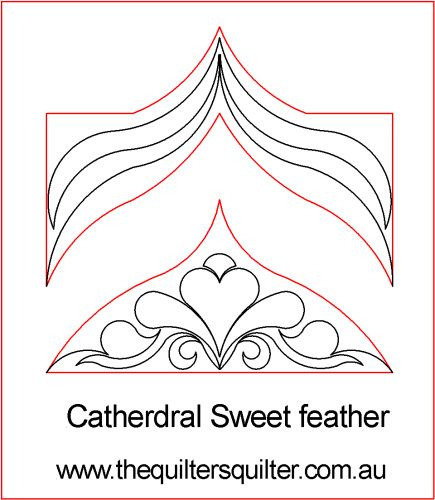 Cathedral sweet feather