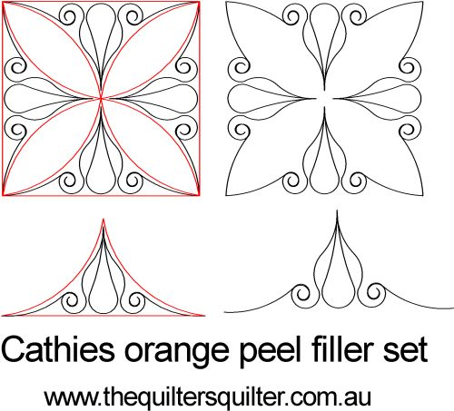 Cathies orange peel filler set