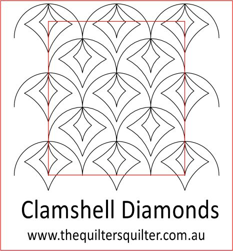 Clamshell Diamonds