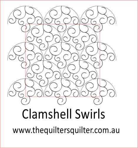 Clamshell Swirls