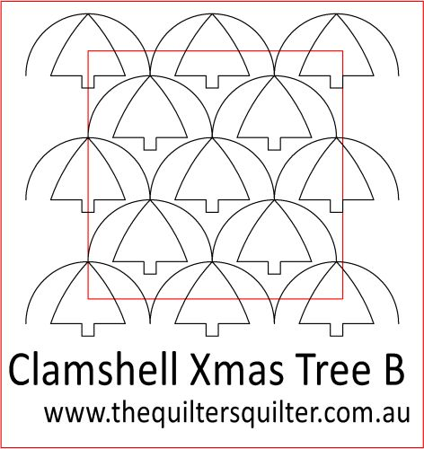 Clamshell Xmas Tree
