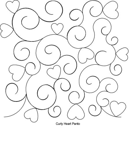 Curly Heart Panto