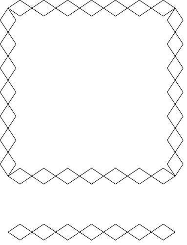 Diamond Sash