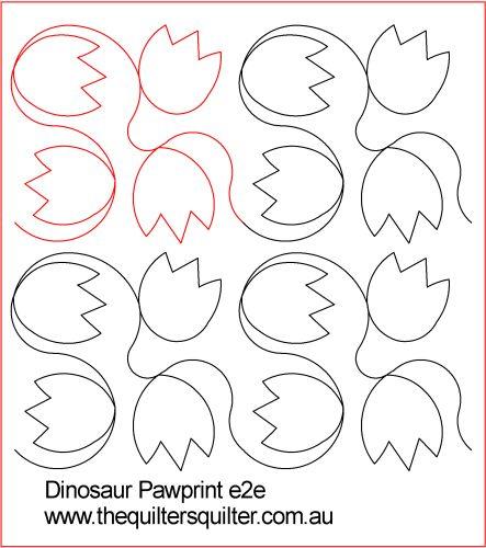 Dinosaur Pawprints E2E