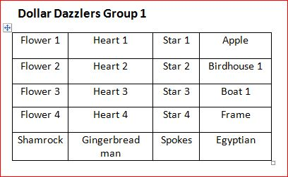 Dollar Dazzlers Bulk Set 1
