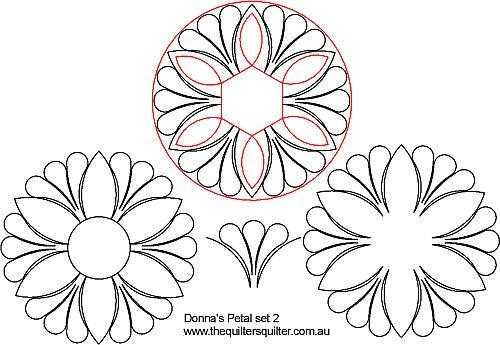 Donna Petal Set 2