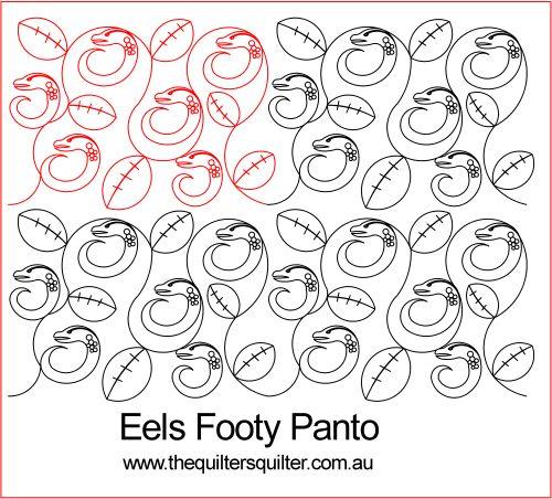 Eels Footy panto