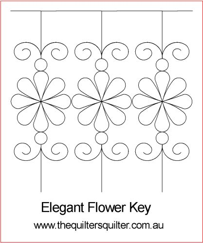 Elegant flower Key P2P