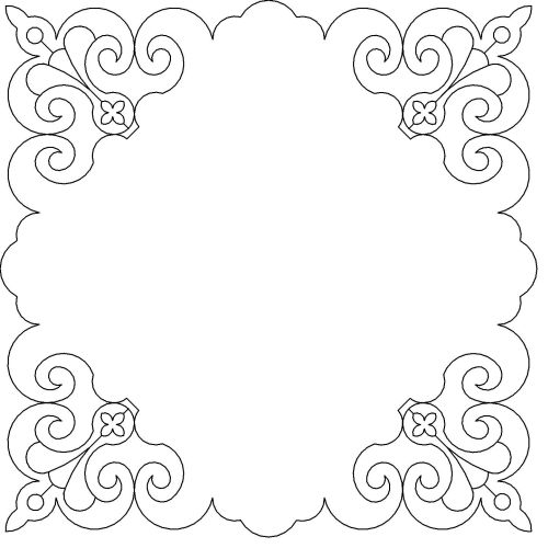 English fluer frame