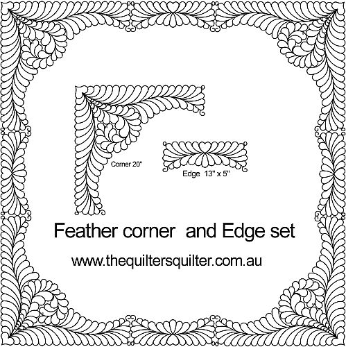 Feather Corner Edge