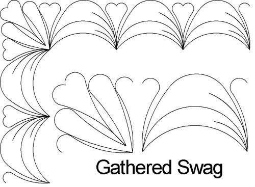 Gathered swag