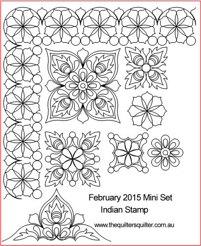 Indian Stamp Mini Set