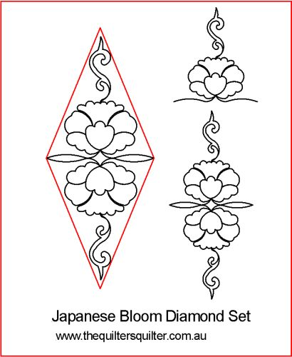 Japanese Bloom Diamond Set