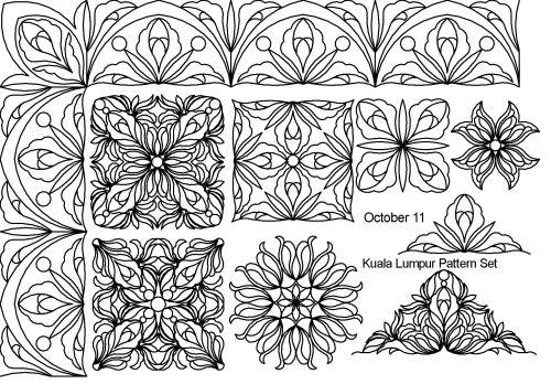 Kuala Lumpur Pattern set