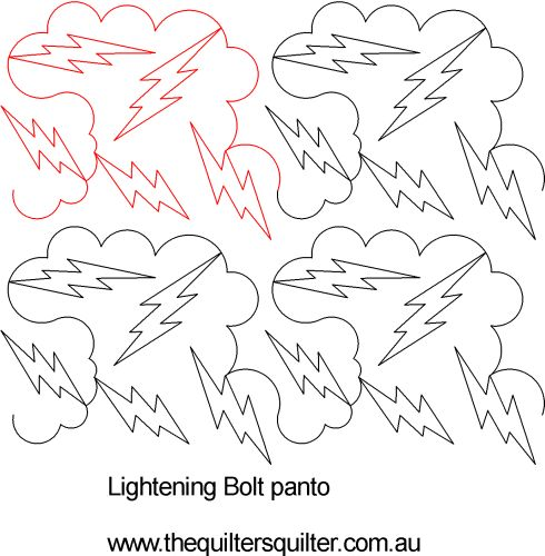 Lightening Bolt panto