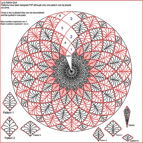The Quilter's Quilter :: Digital Quilting Patterns :: Specific ... : dahlia quilts - Adamdwight.com