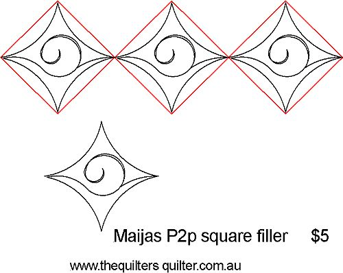 Maijas p2p square filler