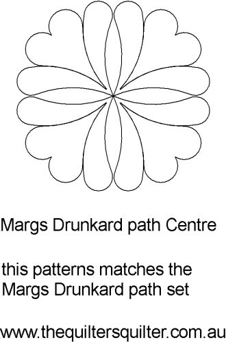 Margs drunkard path centre