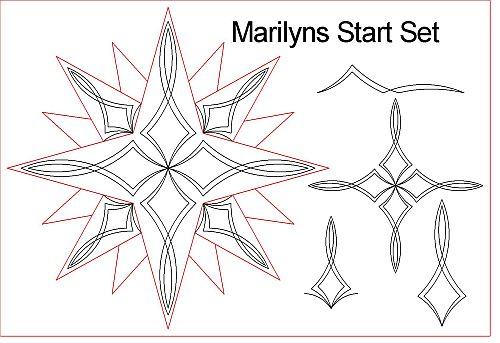 Marilyns Star set