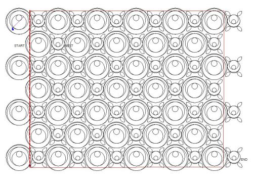Nested Circles Panto