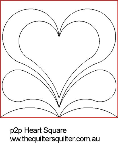 P2P Square Heart