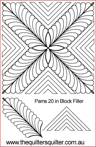 Pams 20in Block Filler