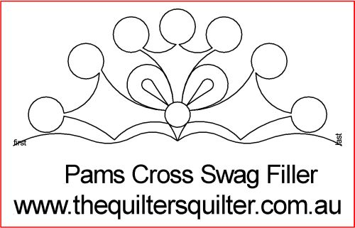 Pams Cross swag filler