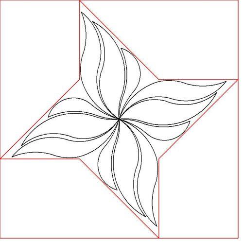 Pinwheel filler