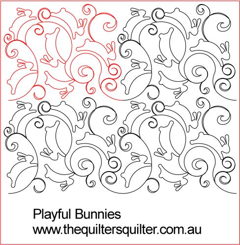 Playful Bunnies Panto