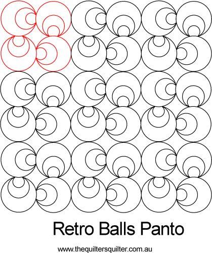Retro Balls panto