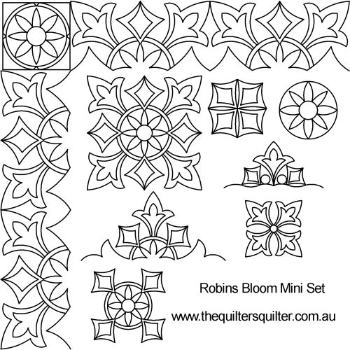 Robins Bloom mini set