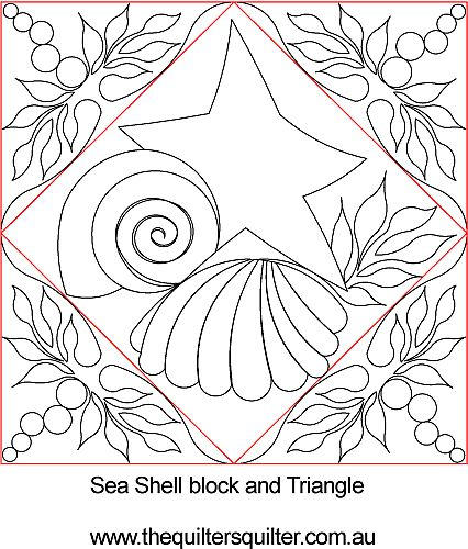 seashell block and triangle