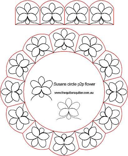Susans circle p2p flower