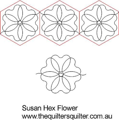 Susans Hex flower