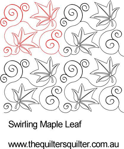 Swirly Maple Leaf