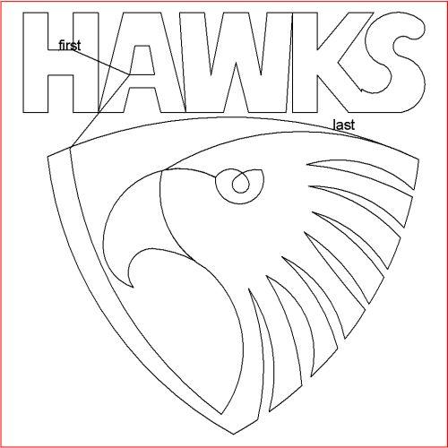 The Hawks Block