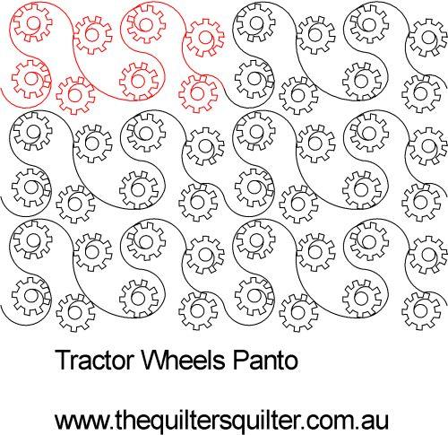 Tractor Wheels Panto