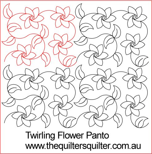 Twirling flowers